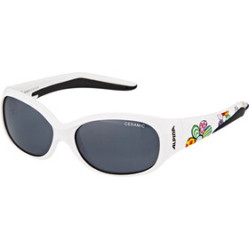 Alpina Flexxy Kids Bril Kinderen, white flower